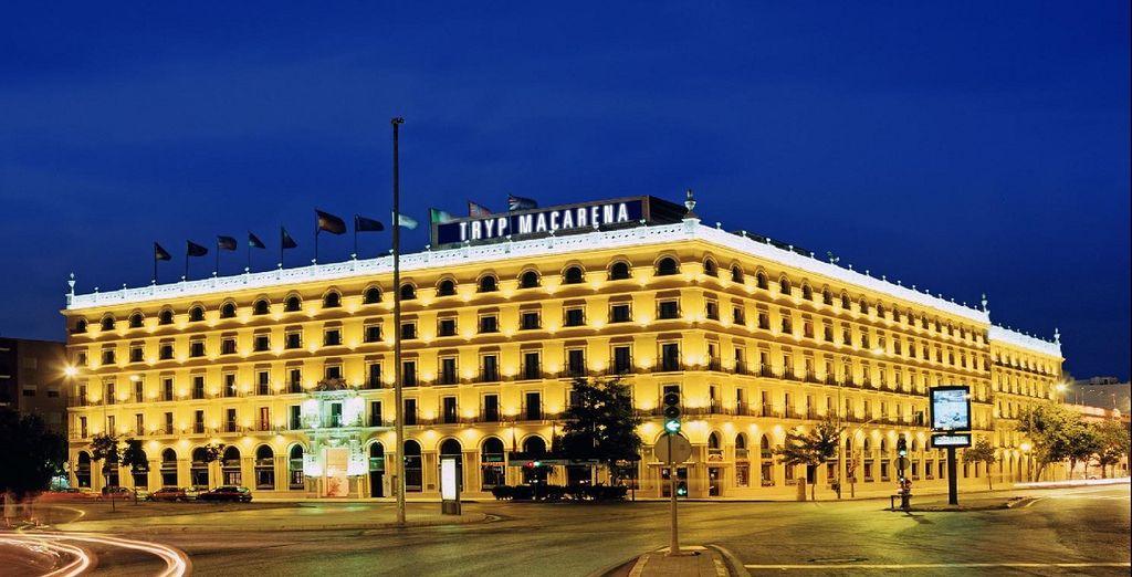 a fine partita il vostro Hotel TRYP Sevilla Macarena 4*