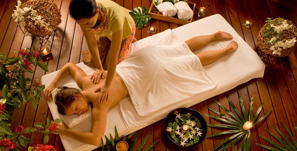 o coccolatevi con un massaggio rilassante presso la SPA