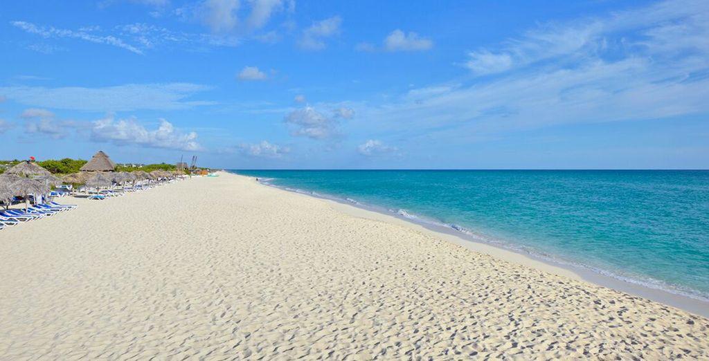 Trascorrerete momenti unici sulla spiaggia