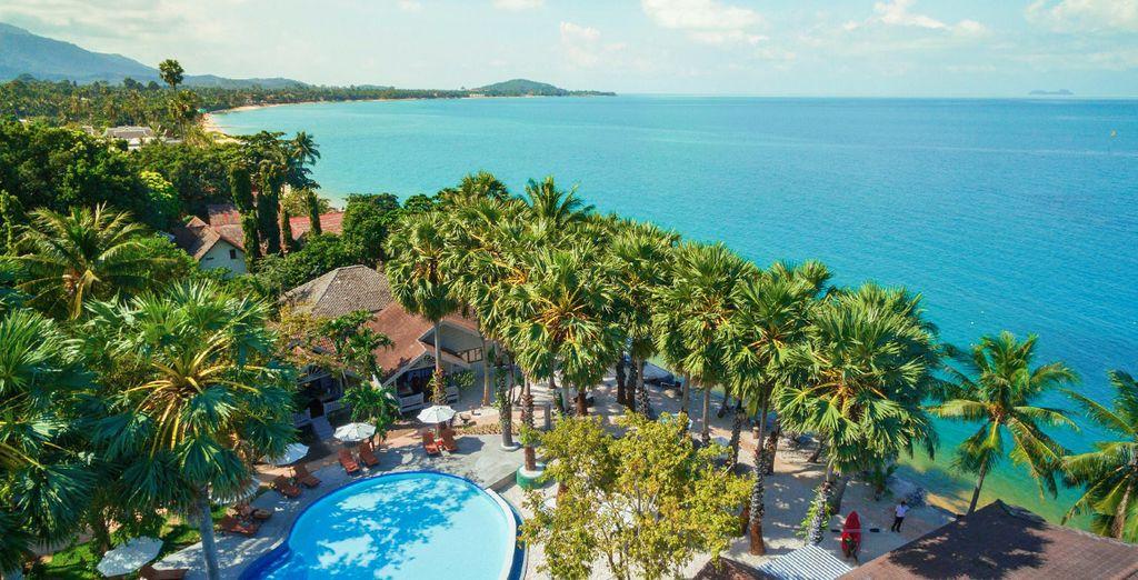 Soggiornerete presso il Paradise Beach Resort Koh Samui 4*