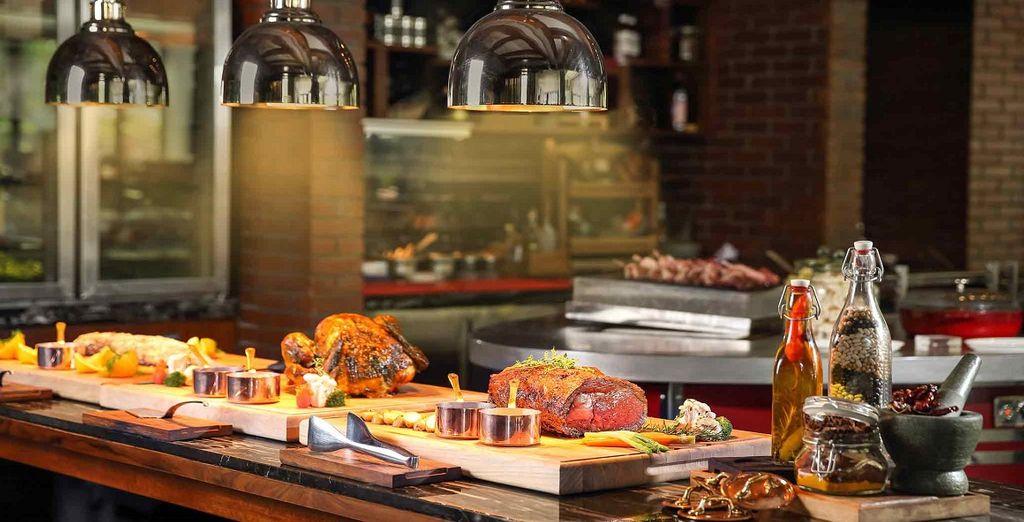 e scoprirete tutti i sapori dei ristoranti del resort in una location esclusiva