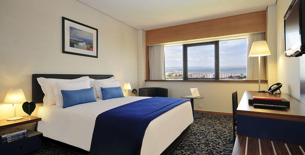 vi offre tutto il lusso e il comfort delle camere Superior