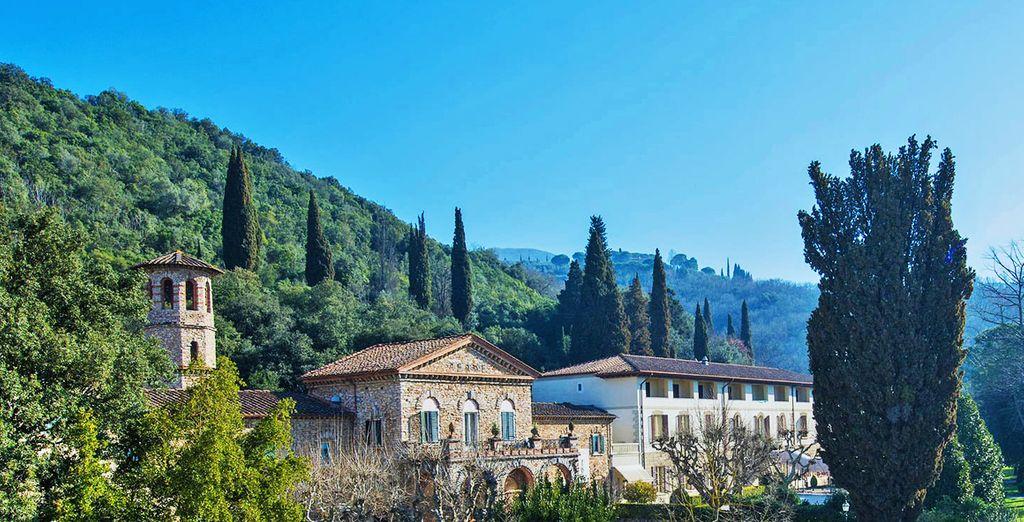 nel cuore della natura Toscana.