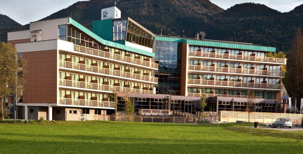 Il Bohinj ECO Hotel 4* è lieto di aprirvi le sue porte