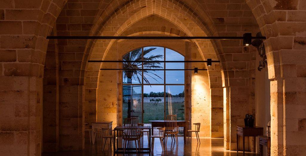 Il Vinilia Wine Resort 4* si trova all'interno di un antico castello nel cuore del Salento