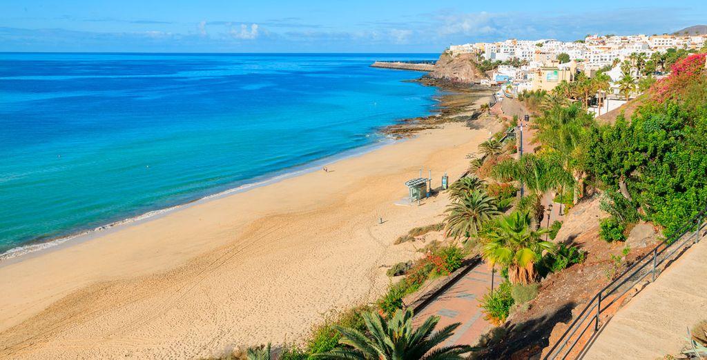 oppure trascorrete le vostre giornate sulla spiaggia di Jandia