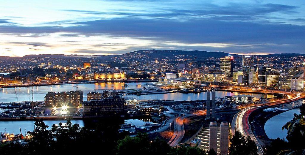 Oslo una grande città immersa nei parchi e nel verde