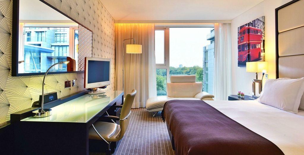 La vostra camera Deluxe gode di una vista mozzafiato
