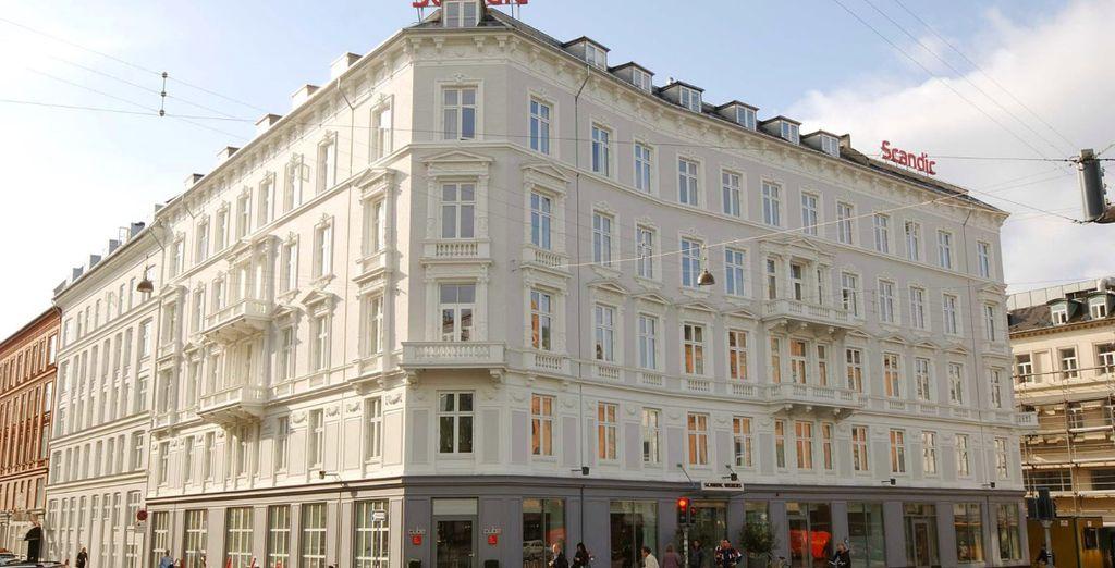 Troverete sistemazione presso l'Hotel Scandic Webers