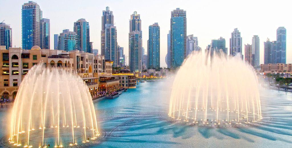 Partite per un soggiorno esclusivo a Dubai