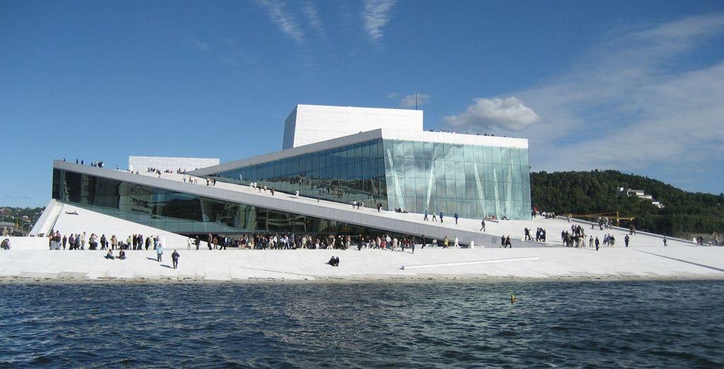 La modernissima Opera House di Oslo è da non perdere