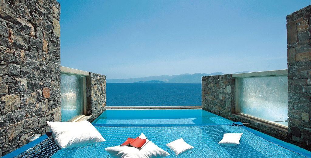 Le Collection Suite dispongono di una piscina individuale