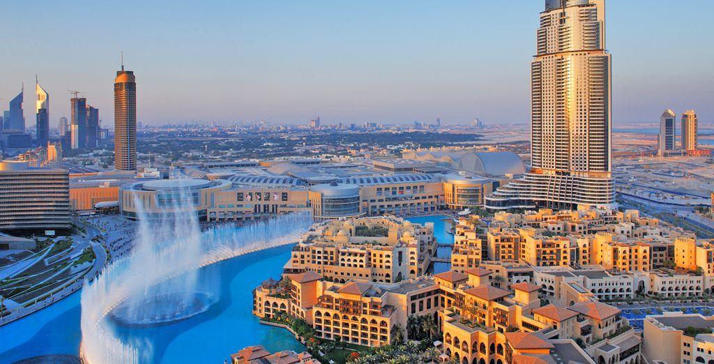 Prima tappa sarà Dubai