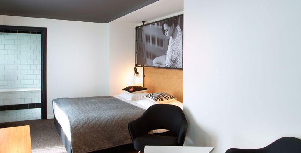 Uw kamer is even stijlvol als de rest van het hotel (afbeelding: Deluxe kamer)