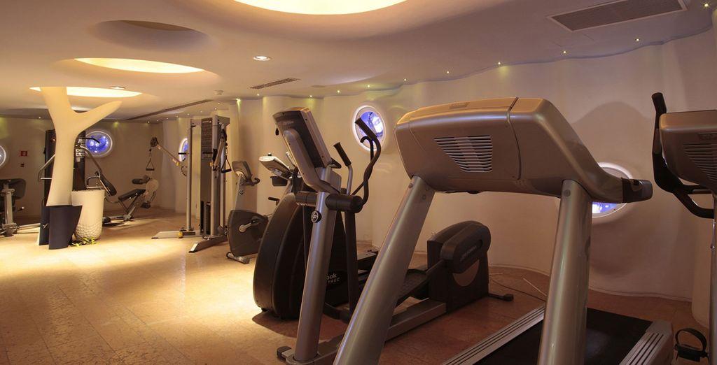 De ideale plek voor degenen die ook graag fit blijven weg van huis