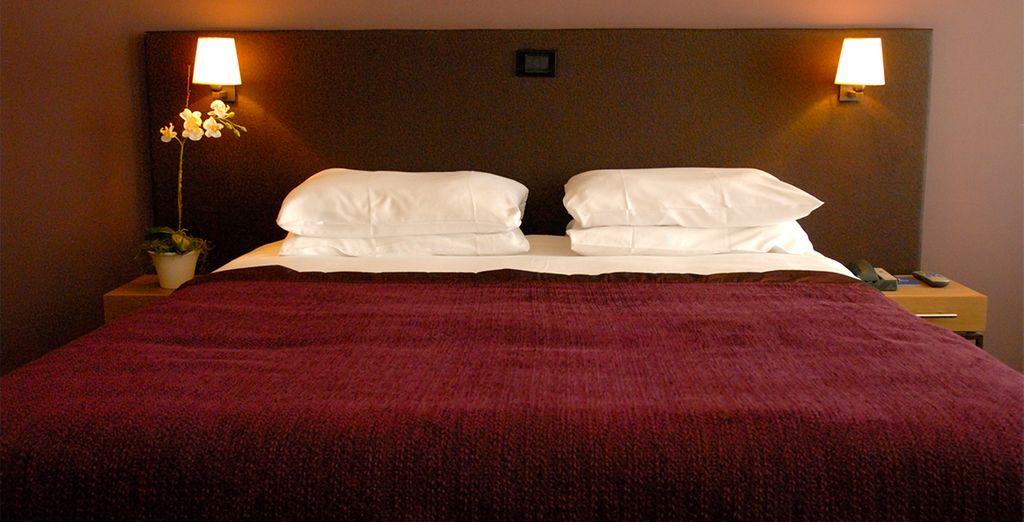 U verblijft in een Charming kamer