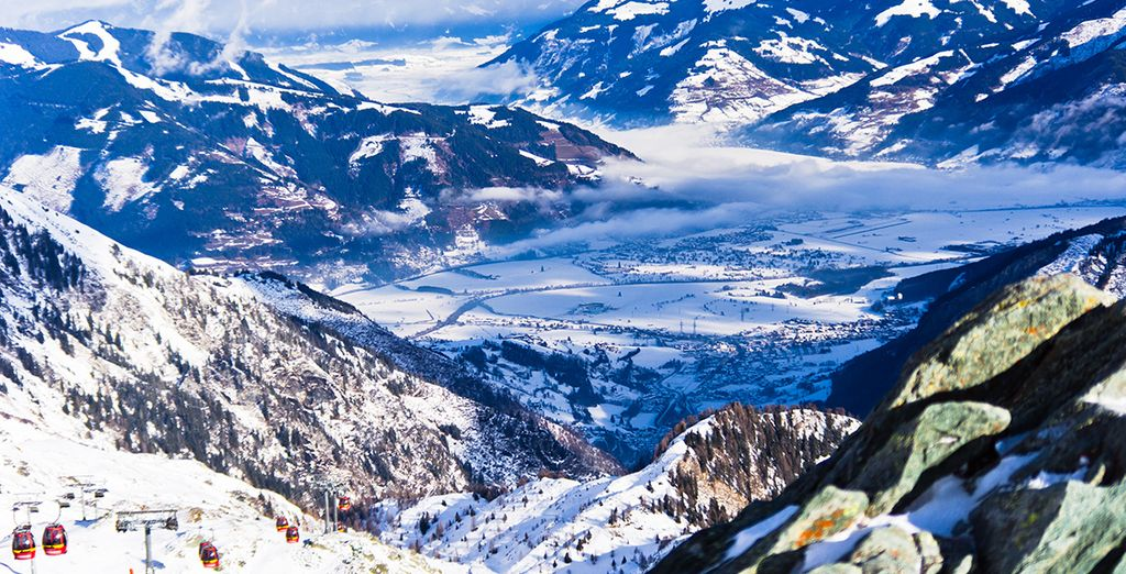 Tijdens een onvergetelijke vakantie in de Oostenrijkse Alpen!