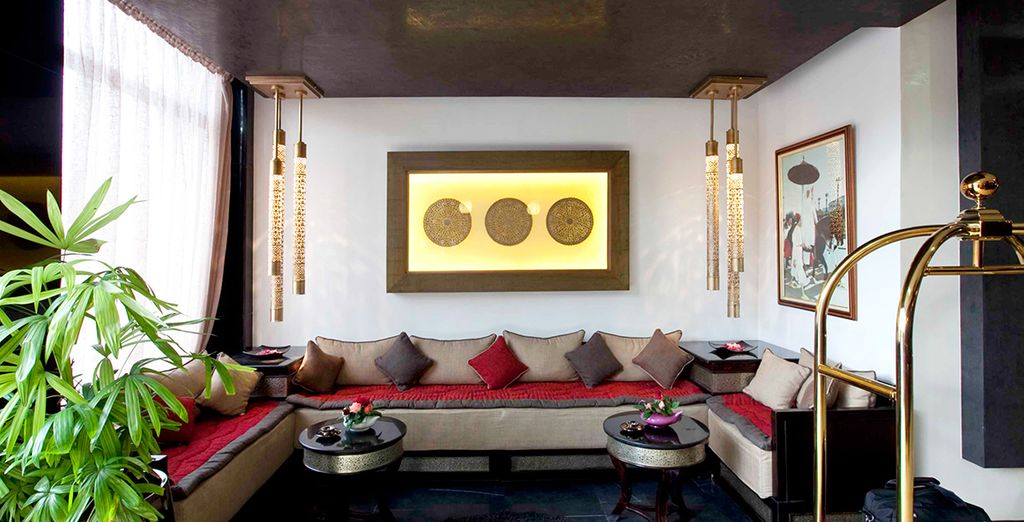 Een hotel met een gezellige en elegante sfeer