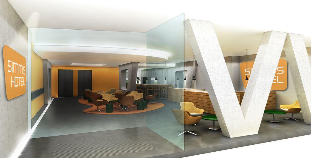 Verblijf in het stijlvolle Simm's Hotel, midden in de stad