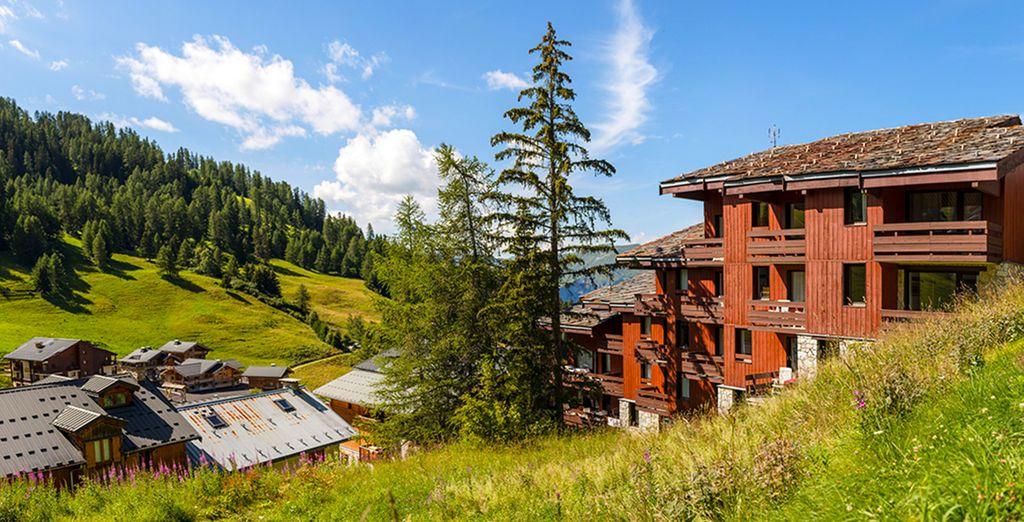 Dat lijkt op een dorpje uit de Savoie