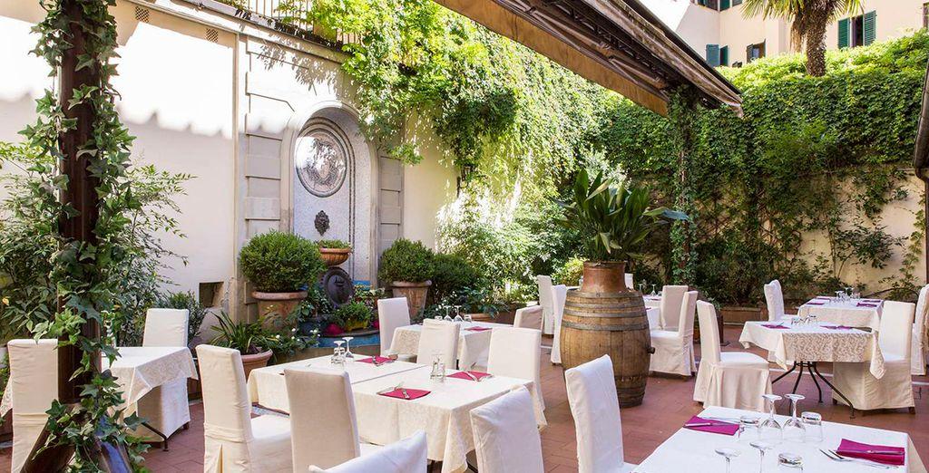 Geniet van uitstekende Italiaanse gerechten