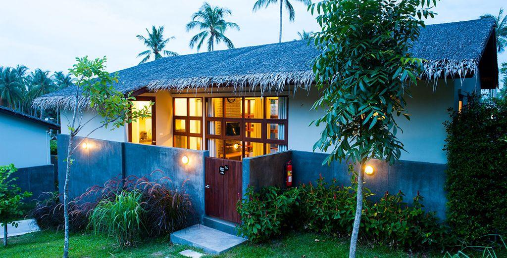 Het hotel Baan Talay Pool Villa verwelkomt u