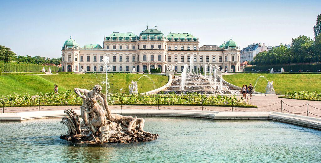 Het Belvédère Schloss