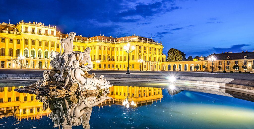 Tot het prestigieuze Palais de Schonbrunn !