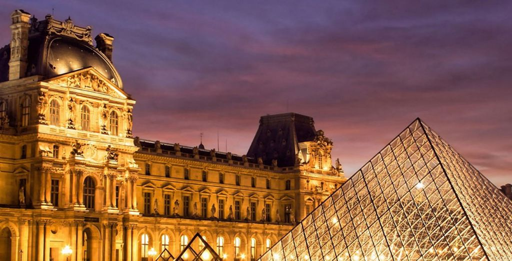 En het impressionante Louvre Museum