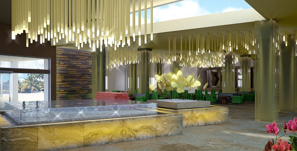 In het nieuwe Now Onyx Punta Cana hotel!