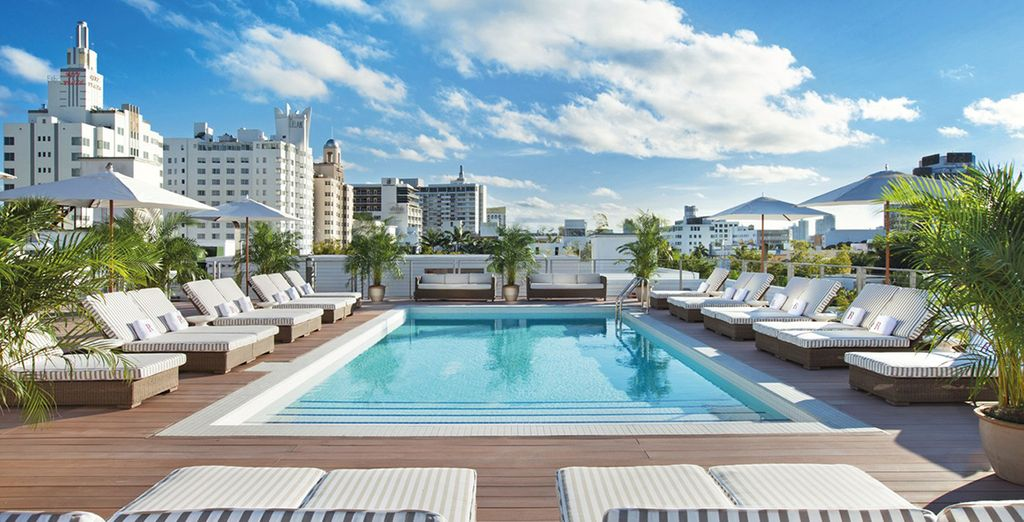 Het Redbury South Beach 4 * is een fantastisch hotel in Miami