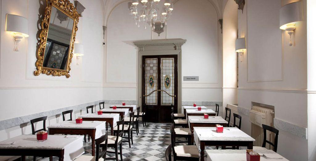 Het enige restaurant in Italië met een menu volledig gebaseerd op de Savini-truffel