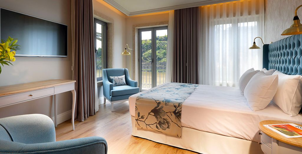 Voor een comfortabel en elegant verblijf