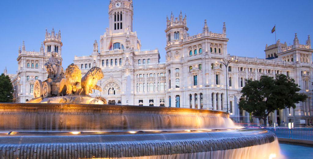 Om de schatten van Madrid te bewonderen