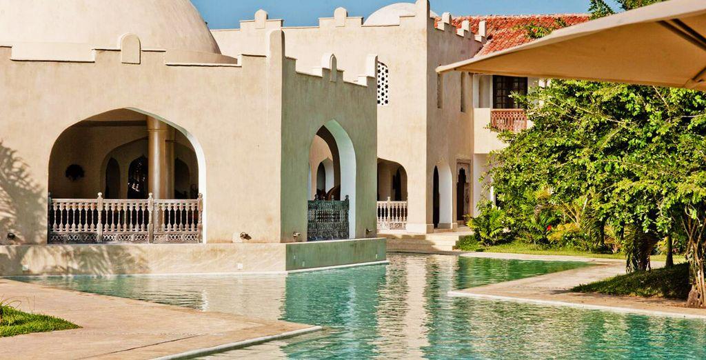Een Keniaans luxehotel