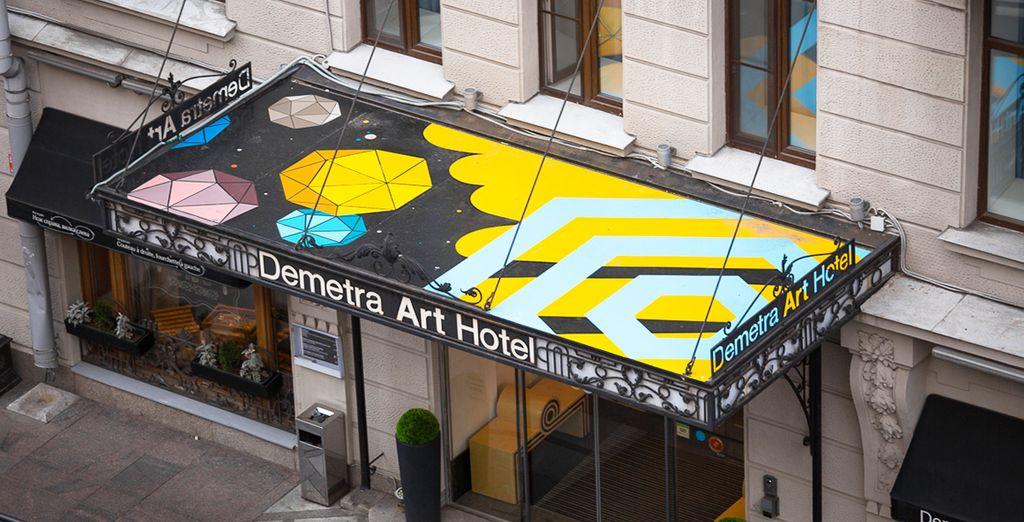 Welkom in het Demetra Art Hotel!
