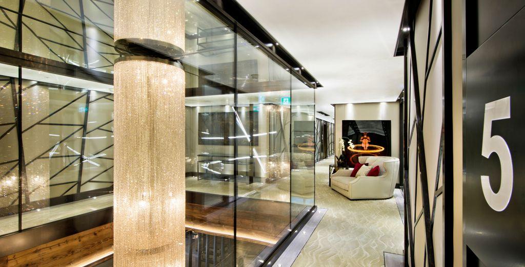 En ontdek een luxueus, verfijnd en modern hotel