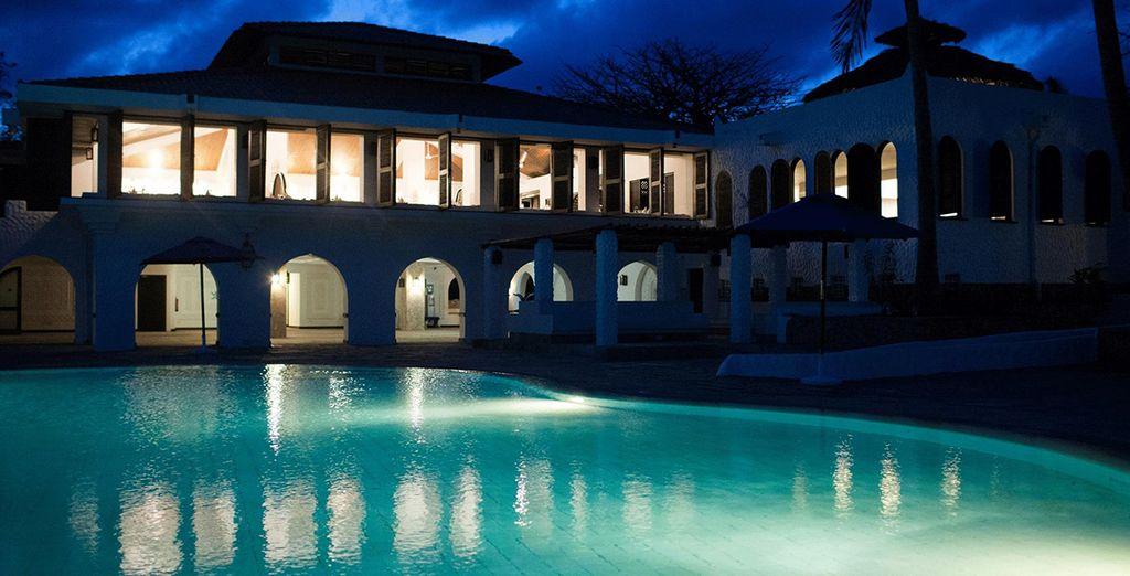 Het Jacaranda Indian Ocean Beach Resort 4* heet u welkom