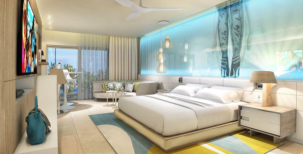 Overnacht in een Junior Suite Tropical View