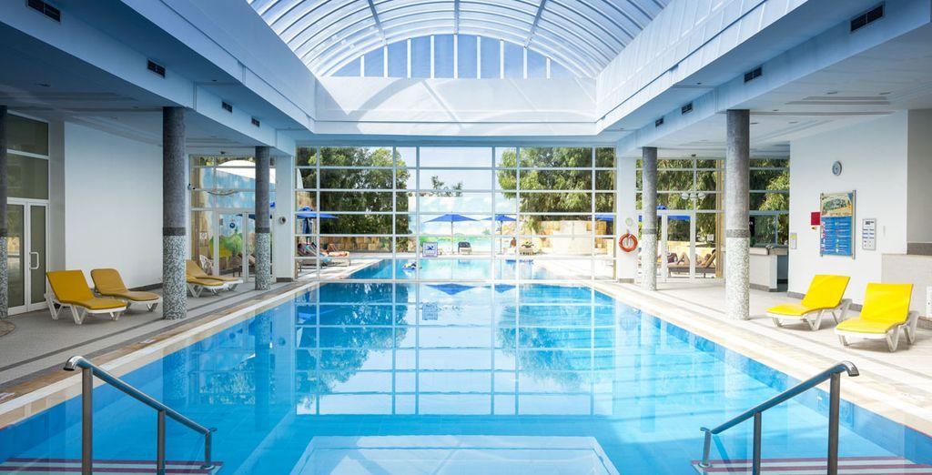 U ontdekt ook het schitterende binnenzwembad