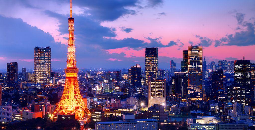 De metropool Tokyo