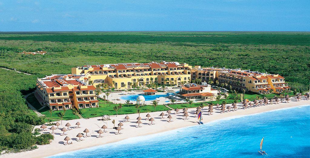 In het Hotel Secrets Capri Riviera Cancun