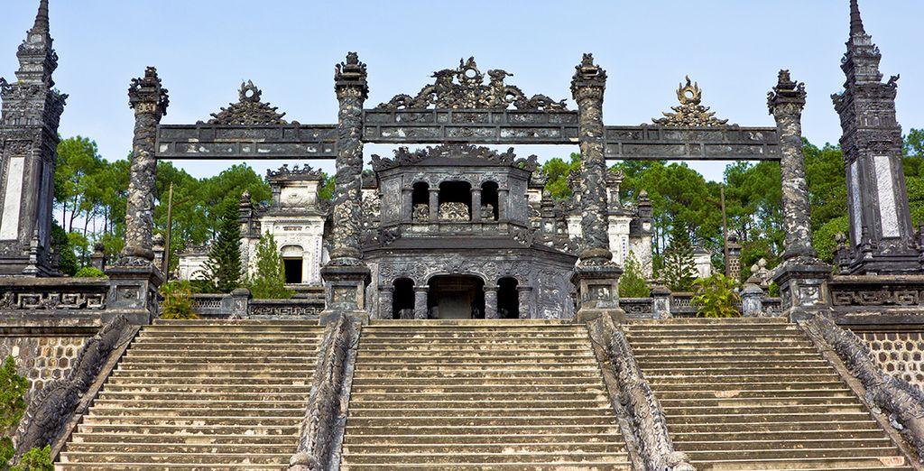 U bezoekt het historische Hué
