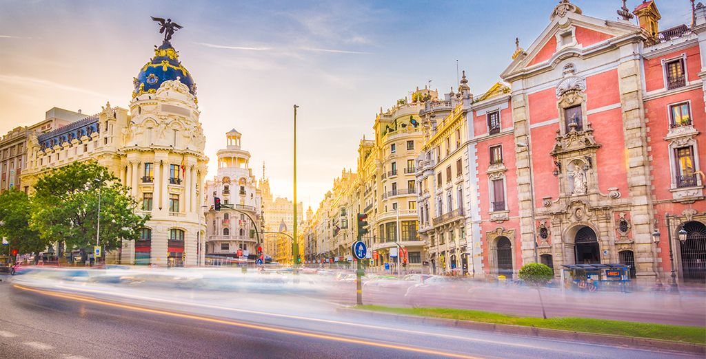 In het hart van Madrid