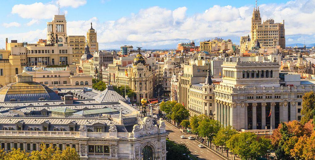 Geniet van een citytrip in het hart van Madrid