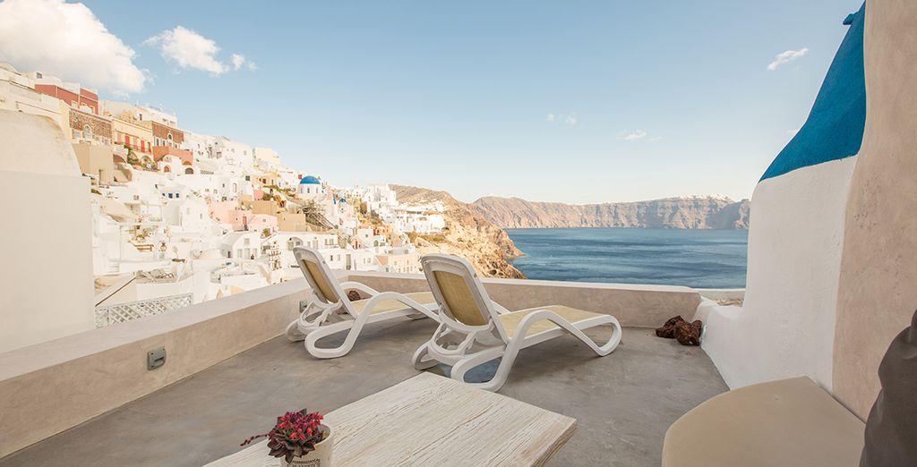 Welkom in de exclusive en luxueuze The Dream Villas Santorini