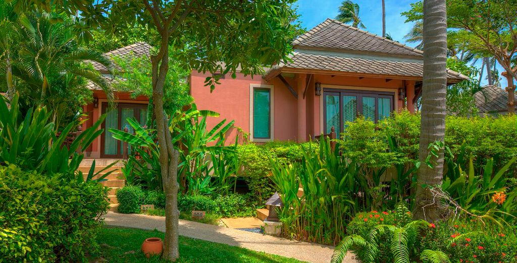 Verblijf in een charmante Garden Villa