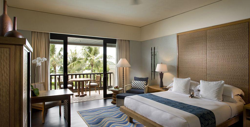 U verblijft in een Resort Deluxe kamer