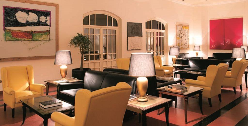 Een elegant 5* hotel omringd door een park van 10 hectaren groot