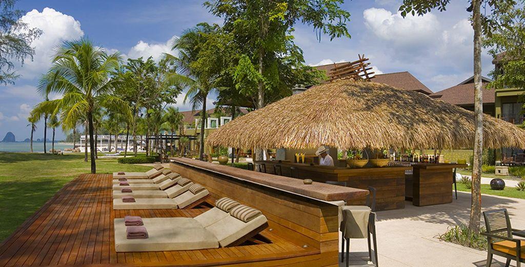 In het Anantara Si Kao Resort & Spa